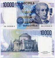 ITALY 10000 LIRE 1984 P 112 a CIAMPI & STEVANI UNC