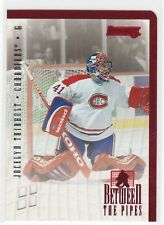 MINT! 1996-97  DONRUSS BETWEEN THE PIPES JOCELYN THIBAULT MONTREAL CANADIENS
