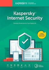 Kaspersky internet security 2019 1 Device PC / 2 years US Version - Download
