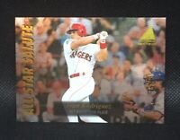 1995 Pinnacle Zenith Edition All-Star Salute Ivan Rodriguez #12 HOF MINT