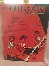 ALBUM OF POPULAR SONGS VINTAGE 1955