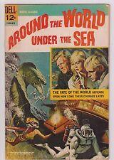 AROUND THE WORLD UNDER THE SEA 1966 DELL MOVIE CLASSICS VG/G