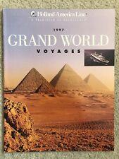 Holland America 1997 Grand World Voyage Brochure - Rotterdam V