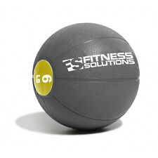 6 LB Fitness Solutions Commercial Medicine Ball Wall Crossfit GYM MedBall 6lb