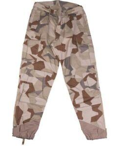 Swedish M90 Desert Camouflage Pants Size 180/85 (US 36)