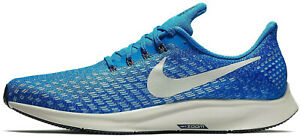 NIKE AIR ZOOM PEGASUS 35 Running Trainers Gym Casual - UK Size 7 (EUR 41)  Blue