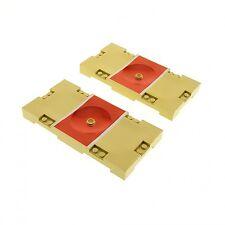 2 x lego cancha beige rojo 8x16 baloncesto Sports disco 30489pb01 Field