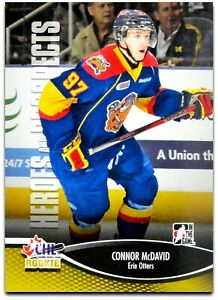 2012-13 ITG Heroes and Prospects CHL Rookie - CONNOR McDAVID #31 RC