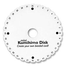 Kumihimo Kumi Disk Braiding Plate Foam DIY Braided Cord Round Braid Loom Disc SM