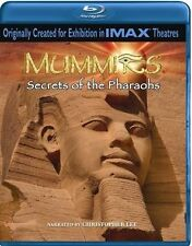 MUMMIES - IMAX 3D Secrets of the Pharoahs *NEW BLU-RAY