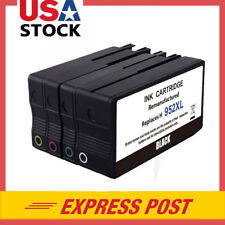 4P For HP 952XL 952 XL Ink Cartridge Officejet Pro 8744 8715 8716 Show Ink Level