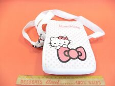 BOLSA BANDOLERA HELLO KITTY BLANCO EN BUEN ESTADO