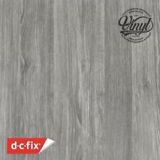 90cm Sheffield Oak Grey Wood Sticky Vinyl Fablon (200-5582) Order by the metre
