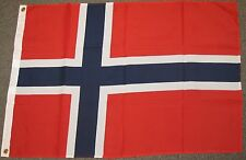 NORWAY FLAG 2X3 FEET NORWEGIAN COUNTRY NATION BANNER NEW F445