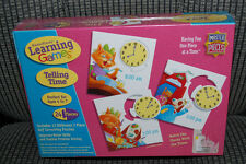 Master Pieces Learning Games Telling Time Puzzle Game Ages 4-7 Homeschooling NEW