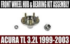 Fits:Acura TL V6 3.2L 1999-2003 Front Wheel Hub & Bearing Kit Assembly