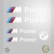 STICKER BMW POWER MOTORSPORT SERIE M M3 M5 DECAL AUTOCOLLANT AUFKLEBER ADESIVO