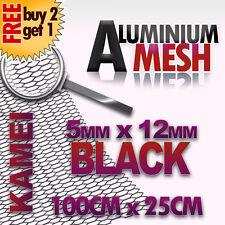 Black Aluminium Mesh Grill Kamei look Alfa Romeo 147 156 GT 159 Spider Giulietta