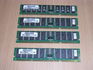 IBM 4454 8GB (4x 2048MB) 208-Pin 8ns DDR1 Stacked SDRAM 12R9259 53P3232