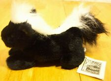 Cascade Skunk Finger Puppet Plush Stuffed Animal New