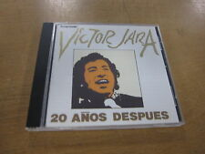 Victor jara - 20 anos despues CD
