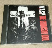 W.A.S.P. cd THE CRIMSON IDOL wasp free US shipping
