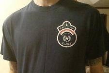 IRAQ POLICE (IP) FALLUJAH T-SHIRT IRAQI (OIF/OEF)**RARE**ONE OF A KIND**