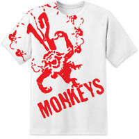 Classic Army Of The 12 Monkeys All Over Movie Logo Print T Shirt (S-2XL) TV