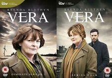 VERA ITV TV Series Complete DVD Collection Set Season 1+2+3+4 and Extras New