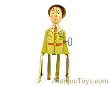"Unique Art ca. 1940's ""G.I. Joe & the K-9 Pups"" Tin Lithographed Windup Toy"