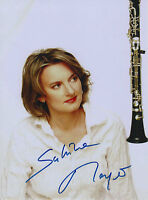 Sabine Meyer signed 8x11 inch photo autograph