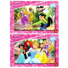 2x infantil para niños y niñas (4 50 Piezas Disney Princess Puzle Rompecabezas