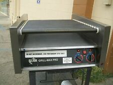 STAR MAX PRO, HOT DOG GRILL/ROLLER, 2 THERMOSTATS,115 VOLTS, 900 ITEM ON E BAY