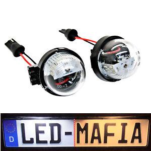 2x Suzuki Alto Swift Carry Vauxhall Agila- LED License Plate Light Module -