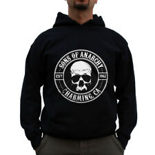 Officially Licensed Sons of Anarchy Seal Big & Tall 3XL, 4XL, 5XL Hoodie