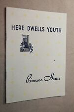 1930 HERE DWELLS YOUTH PRIMROSE HOUSE cosmetics book face skin care salon beauty