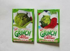 RARE 2000 THE GRINCH WHO STOLE CHRISTMAS MOVIE PROMO PIN SET JIM CARREY DR SEUSS