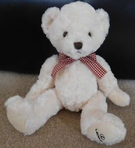 """GENUINE LEXUS 10"""" TEDDY BEAR SOFT TOY-CREAM.BRAND NEW WITHOUT TAGS RRP £21.00"""