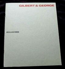 GILBERT AND GEORGE  Postcard sculptures   1990 ART EXHIBITION CATALOGUE