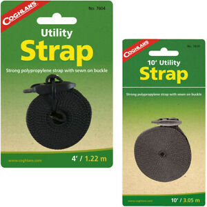 Coghlan's Utility Strap, Polypropylene Tie Downs Camping Boating Camp