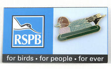RSPB Pin Badge - For Birds, For People, For Ever Series - Wigeon