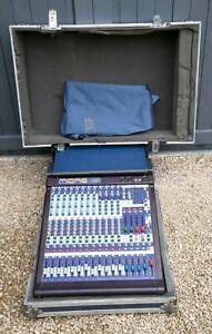 Midas Venice 160 16-Channel / 30-Input Mixing Console c/w Flight Box - Excellent