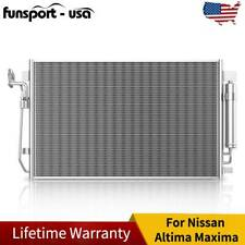 Ineedup A//C Condenser Assembly Fit for 2007-2012 Altima 2009-2013 Maxima AC3639 3639 NI3030161
