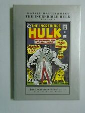 Marvel Masterworks The Incredible Hulk Hardcover #1 (1st Print) 8.0 VF (2003)
