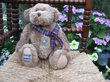Metro UK George Bear Limited Edition Teddy Love 12 inch Jointed Plush