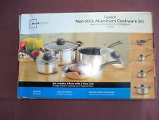 Mainstays 7 Piece Non-Stick Aluminum Cookware Set / Brand NEW in Box