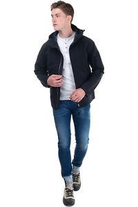 RRP €395 C.P. COMPANY VULCAN Rain Jacket Size 50 / L Unlined Drawcord Hem Hooded