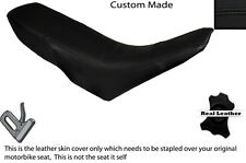 BLACK STITCH CUSTOM FITS GILERA GSM 50 DUAL LEATHER SEAT COVER ONLY