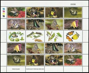 LAO PDR 2003  Butterflies - Insects FS