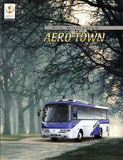 Hyundai Aero Town Bus 2002 South Korean Market Sales Brochure